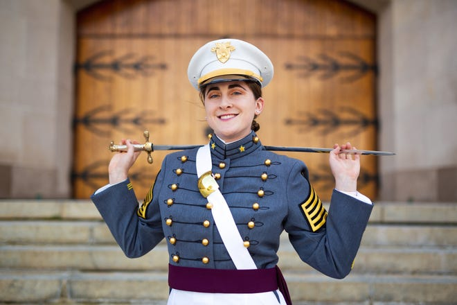 "South Western High School graduate Lynne ""Lindy"" Mooradian was honored at her West Point U.S. Military Academy graduation this June with a shout-out from President Donald Trump. She earned the overall highest class standing and highest physical program score."