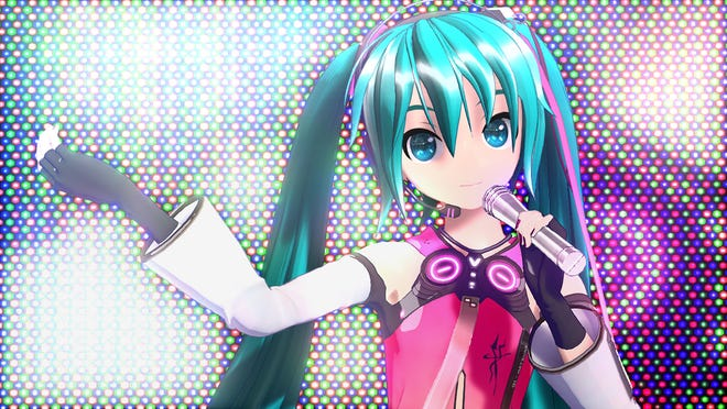 Hatsune Miku: Project Diva MegaMix for the Nintendo Switch.