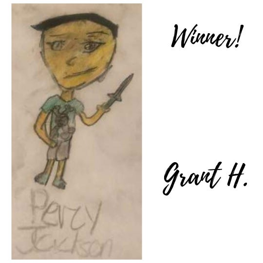 """The Tom Green County Library recently wrapped up its """"Imagine Your Story"""" bookmark contest. Grant Halsell was one of the top three winners."""