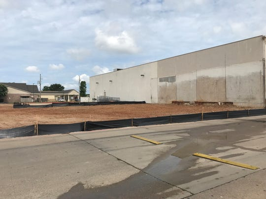 After nearly six years, the condemned part of Bayou Walk shopping center has been leveled.
