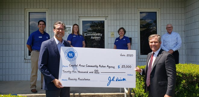 Capital Area Community Action Agency partners with Hancock Whitney to provide housing and rental relief aid.