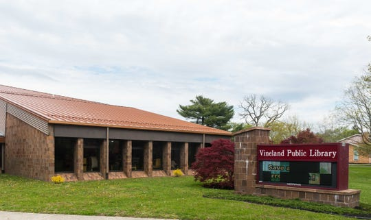 Vineland Public Library will offer curbside pickup service beginning July 6 at 1058 E. Landis Ave.