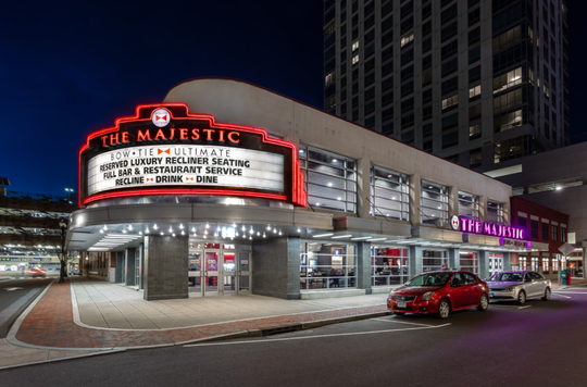 Bow Tie Cinemas will reduce auditorium capacities by 50% to follow physical distancing.