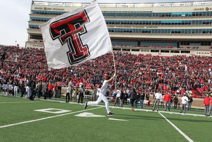 Texas Tech reports 23 football players, staff members tested positive for coronavirus