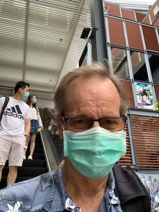 Scott Duke Harris in Hong Kong in June 2020.