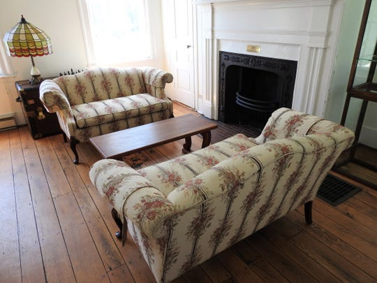 Two backrooms of the Pomerene Center can accommodate small meetings of two to five people. The historic home and gallery has been made available as remote work or meeting spaces for public use.
