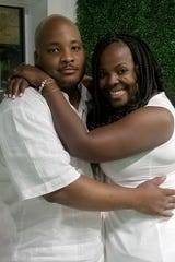 Richard and Denise Chandler of Detroit were married 13 years. Richard died in March at Sinai-Grace Hospital.