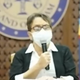Gov. Lou Leon Guerrero speaks during her press conference held on June 27, 2020 when she announced new quarantine guidelines that will take effect on July 1, a decision made after a surge of COVID-19 positive cases this week.