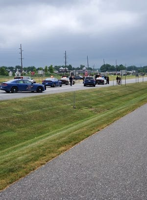 A 41-year-old man led police on a chase from Clinton County into Livingston County on Saturday, June 27, 2020.