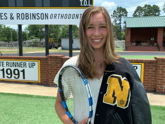Graham captured back-to-back singles state championships in tennis while receiving All-State, All-NELA and District Offensive MVP accolades in soccer. In the classroom, she was one of Neville's valedictorians with a 4.0 grade-point average and 31 ACT score. She also made the Louisiana High School Athletic Association's composite Academic All-State team and was an Allstate Sugar Bowl/LHSAA scholarship recipient.