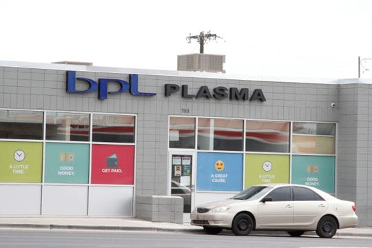 BPL Plasma is pictured, Friday, June 26, 2020, in Farmington.