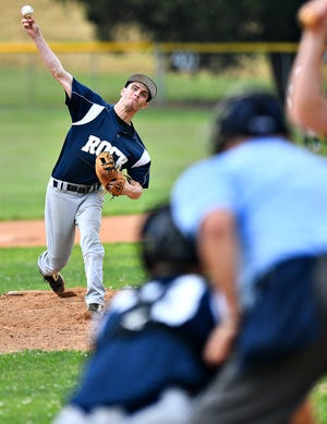 Alex Coombes, seen here in a file photo, gave Glen Rock another strong pitching outing on Thursday.