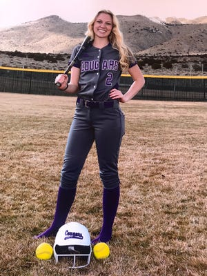 Kylie Bradley will play softball at Feather River College.