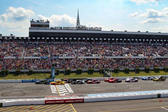 NASCAR Cup drivers will be racing on back-to-back days for the first time at Pocono Raceway.