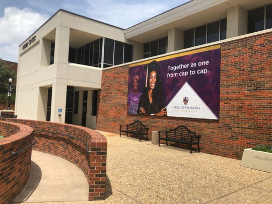 An advertisement for Hardin-Simmons University featuring now-former student Taylor Woods
