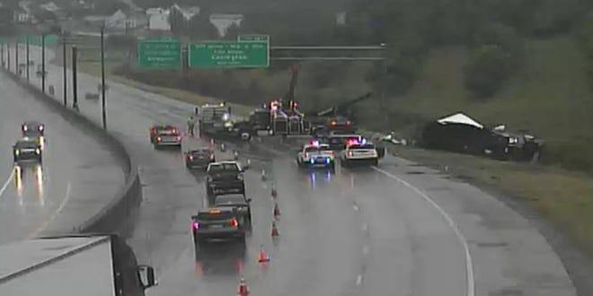 A crash involving a semi in Kenton County left one person injured, Kenton County police said.