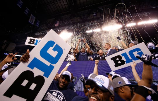 Will the Big Ten title game be played at Lucas Oil Stadium this season?
