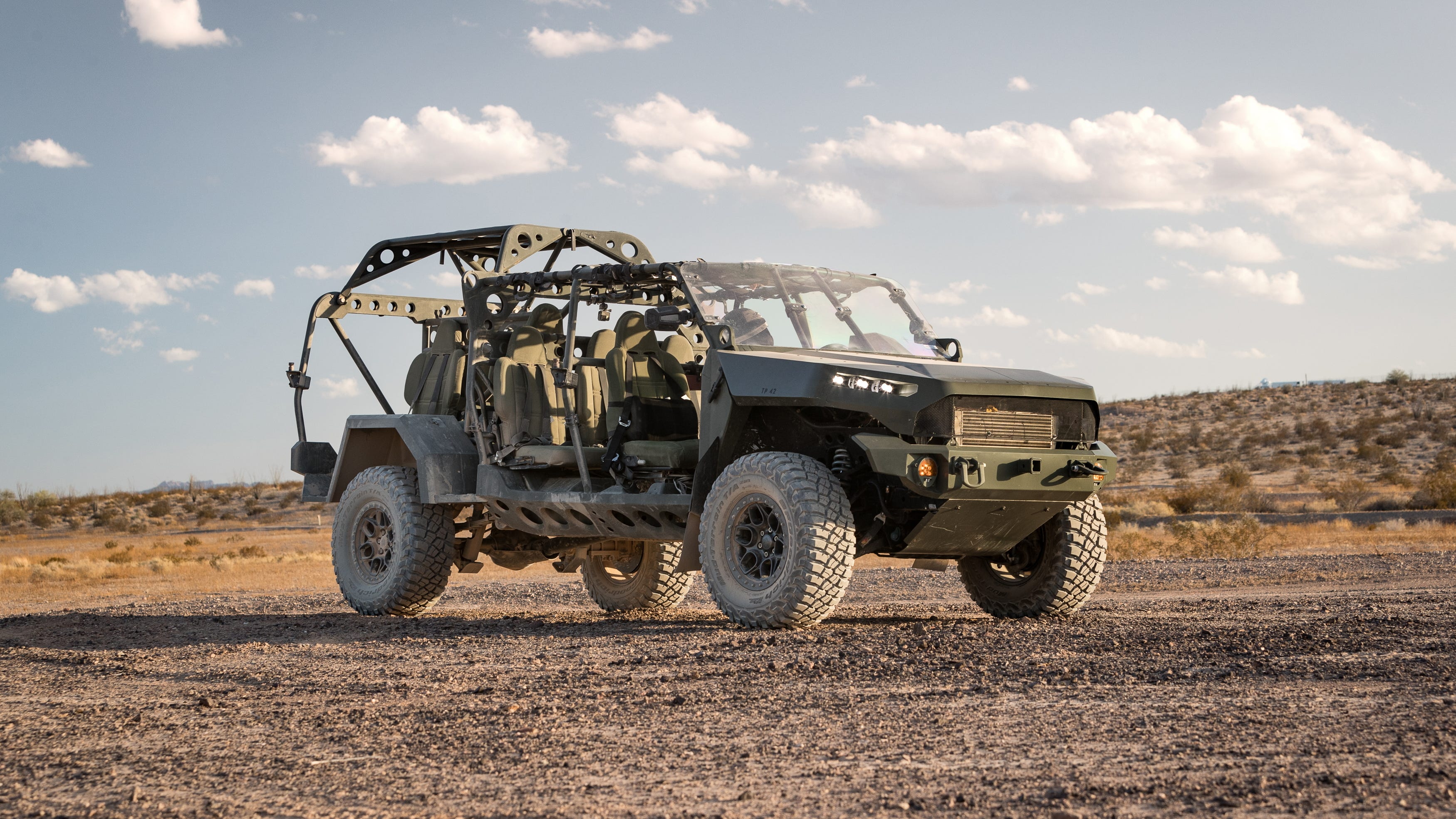 Off Road Warrior Gm Arm To Build Army Vehicle Based On Chevy Colorado