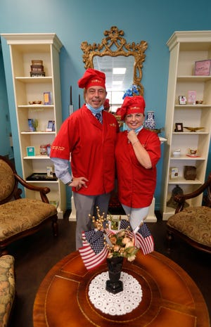 Brad and Sylwia Mills are the owners of Sylwia's Ice Cream in Cape Coral.