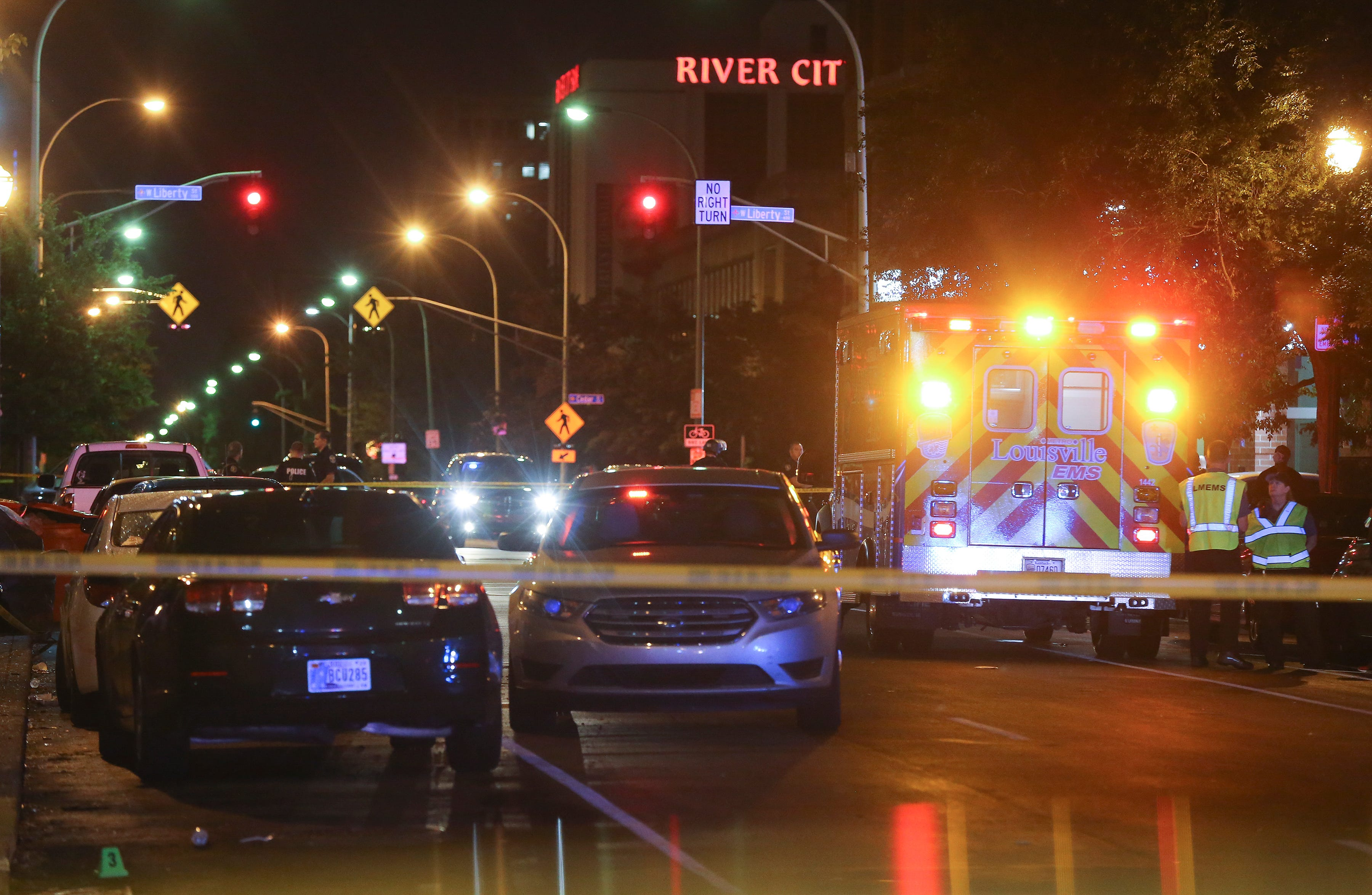 Louisville shooting: At least one person killed in Jefferson Square Park where Black Lives Matter protests held