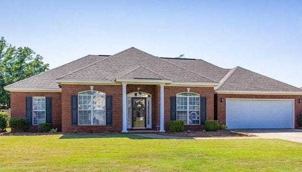 One Windrose home is for sale for $238,500 and includes four bedrooms and two bathrooms within 1,963 square feet of living space.