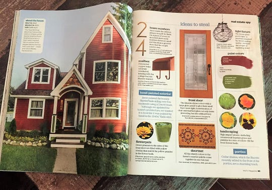 The Blazeks' renovated home was recently featured in HGTV magazine.
