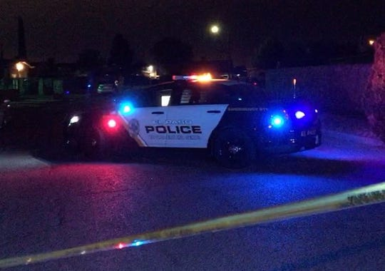 El Paso police investigate a shooting that left one woman dead and wounded two men at a home in the 9900 block of Genie Drive on Saturday, June 27, 2020.
