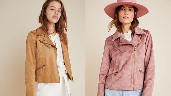 Step it up this fall in a seriously cute moto jacket.