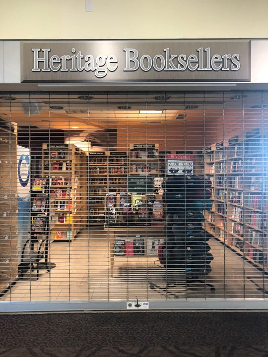 A bookshop at TF Green International Airport in Providence, Rhode Island, remained closed in late June, like many other airport shops and restaurants due to the coronavirus travel slump.
