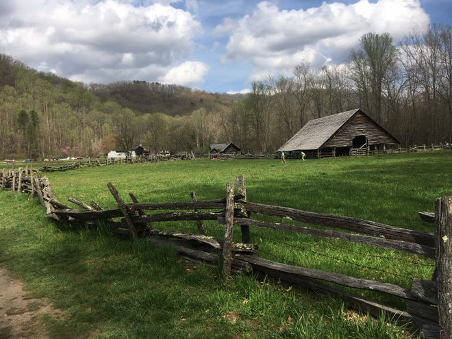 A 32-year-old man died in the Oconaluftee River June 27. The river runs behind the Mountain Farm Museum in the Great Smoky Mountains National Park in Cherokee.
