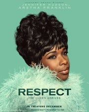 "The poster for the Aretha Franklin biopic ""Respect."""