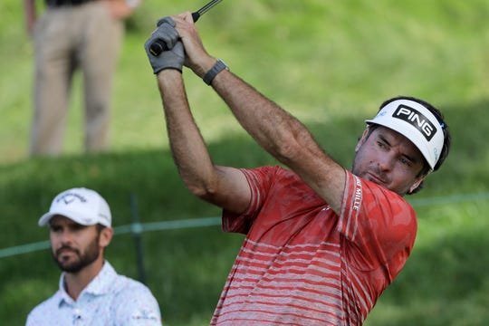 Bubba Watson missed the cut at last year's Rocket Mortgage Classic.
