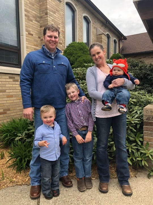 Mary Costigan and her husband Ted, have three children — Case, Brant and Kip — and a dairy farm where they milk Registered Jerseys in Coopersville, MI.