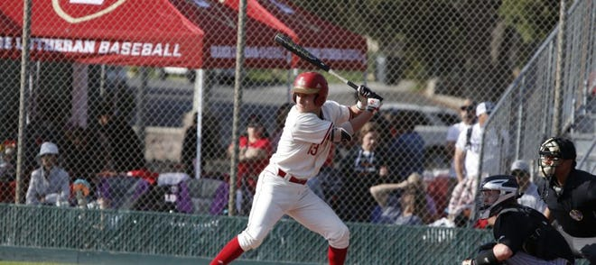 Orange Lutheran shortstop Tank Espalin could be in Indiana's lineup early on.