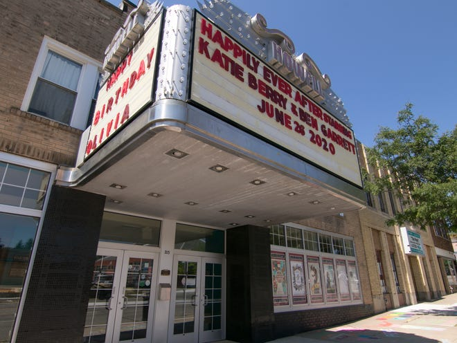 The Historic Howell Theater, shown Monday, June 29, 2020, plans to offer viewing of films through its Backlot Drive In Movie Experience.