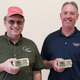 Jim Loefer (left), general manager of CP Feeds, LLC, and Steve Zutz, CEO of Country Visions Cooperative. The two, along with their supply partners, have donated $50,000 worth of dairy products to Feeding America Eastern Wisconsin. ​​​​​​​