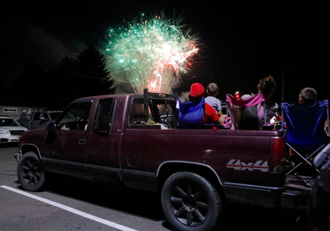 While many fireworks displays have been canceled this year, some areas have found unique ways to bring the fireworks to you.