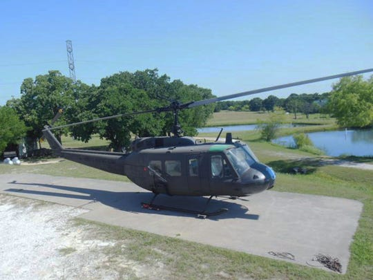 The Huey Helicopter shown was purchased with a grant from the Carlsbad Community Foundation and will be on display at the Carlsbad Veterans Memorial Park.