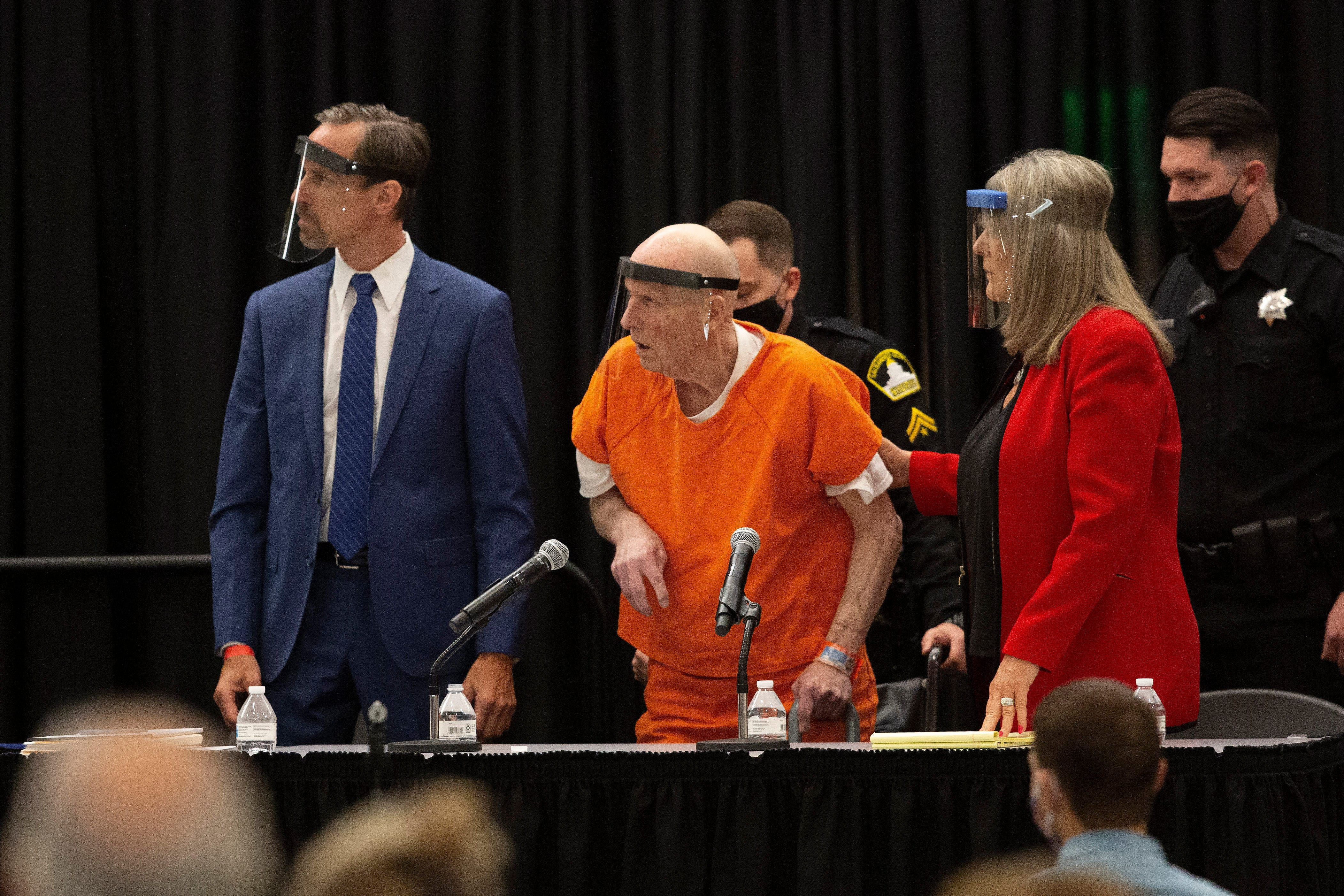 Joseph James DeAngelo pleads guilty to 13 murders tagged to California s  Golden State Killer