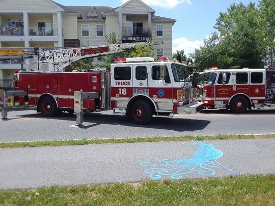 Crews were dispatched to a 3-alarm fire at the Willows Senior Apartments on Monday, June 29, 2020 in Lebanon.