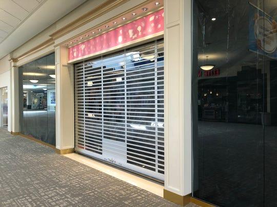 The Victoria's Secret store at the Richmond Mall has closed.