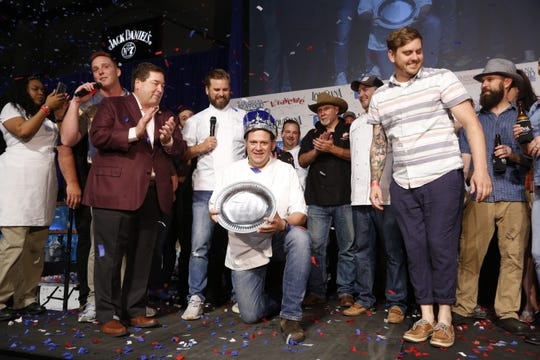 The 2019 King of Louisiana Seafood title is held by Chef Nathan Richard, of Cavan Restaurant and Bar in New Orleans.