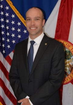 Jason Jones, who has served as FDLE's general counsel since 2015.
