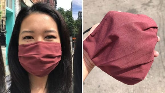 The best overall face mask: Athleta Non Medical Face Masks