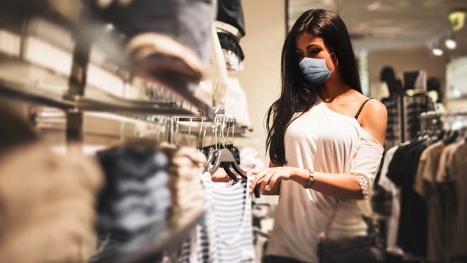 How to safely shop for clothes as stores reopen