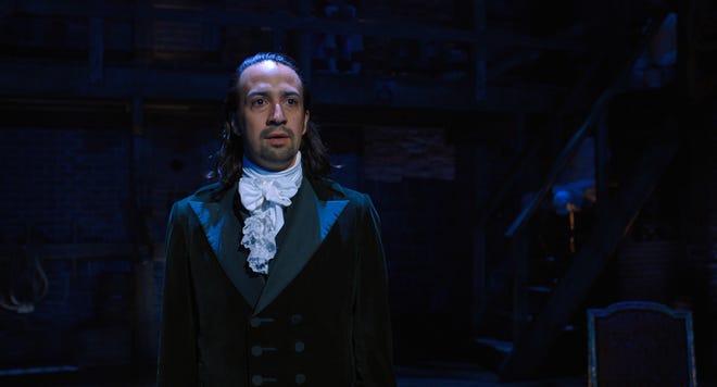 """Lin-Manuel Miranda stars as Alexander Hamilton in 'Hamilton."""""""