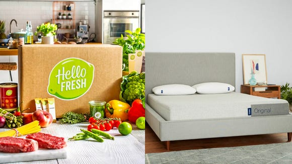 Gifts for new parents: Hello Fresh meal kit delivery