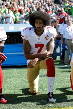 To begin the season the entire league will be reflecting concerns first brought to light by Colin Kaepernick.
