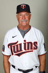 Bullpen coach Bob McClure joined the Twins this season.