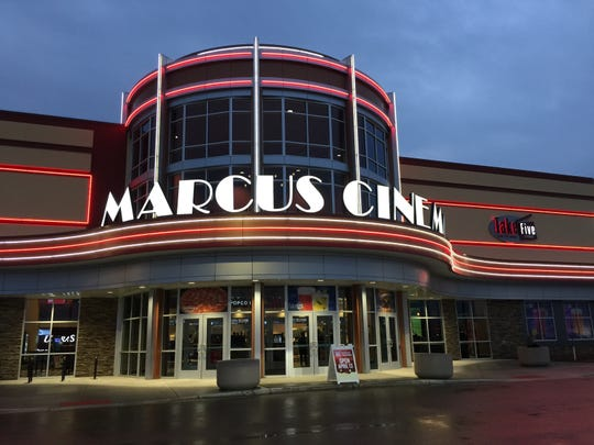 Marcus Theatres will be opening concession stands and serving a traditional menu.